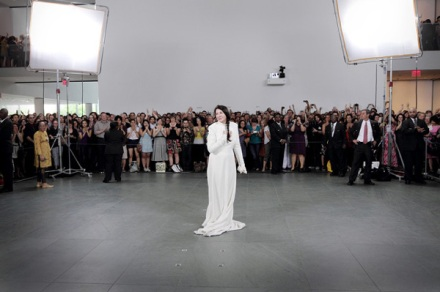"""The Artist is Present""Marina AbramovicMoMA - New York"