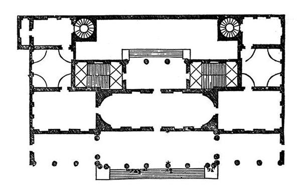 Andrea Palladio: Palazzo Chiericati. Vicenza, 1550.