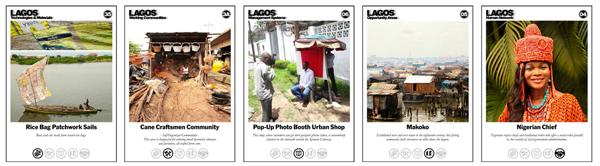 Inteligencias Colectivas. Mapa y catálogo de evidencias. Lagos, Nigeria