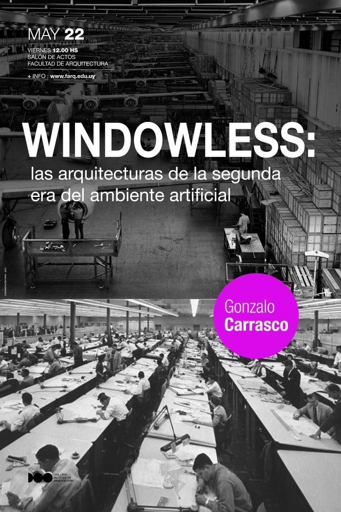 afiche conferencia windowless